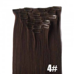 CLIP HAIR CIEMNY BRĄZ N222C (4)