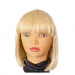 Peruka w kolorze jasny blond 8039 (613)